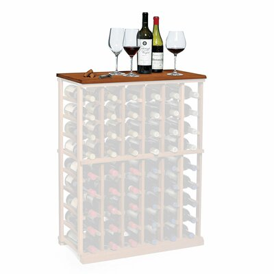 Nfinity Wine Rack Tabletop Finish: Dark Walnut