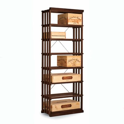 Nfinity 84 Bottle Floor Wine Rack Finish: Dark Walnut