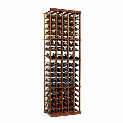Nfinity 90 Bottle Floor Wine Rack Finish: Dark Walnut