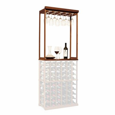 Nfinity Tabletop Wine Glass Rack Finish: Dark Walnut