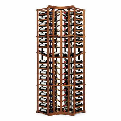 Nfinity 72 Bottle Floor Wine Rack Finish: Dark Walnut