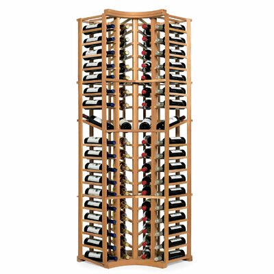 N'finity 72 Bottle Floor Wine Rack Finish: Natural