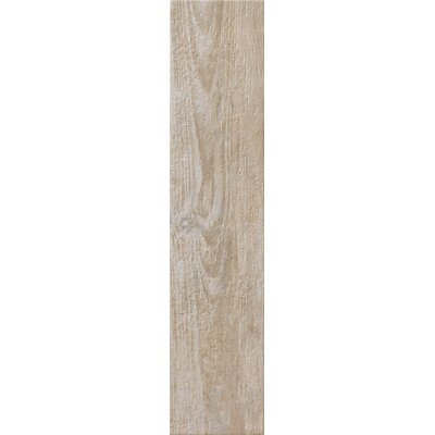 Fence 8 x 36 Porcelain Field Tile in Sand Mustang