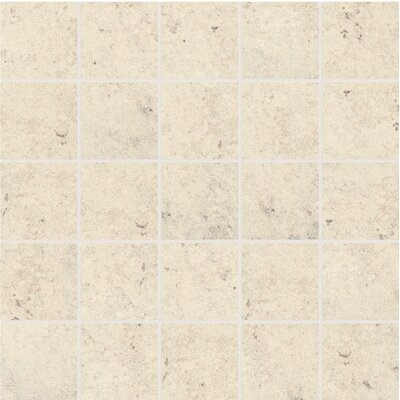 Trace Porcelain Mosaic in Mineral White