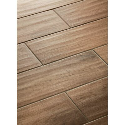 Vivaldi 6 x 24 Porcelain Wood Tile in Summer