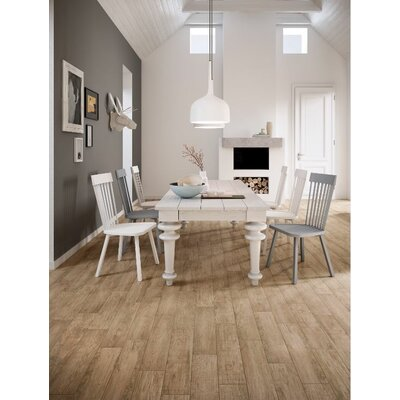 Vivaldi 6 x 24 Porcelain Wood Tile in Spring