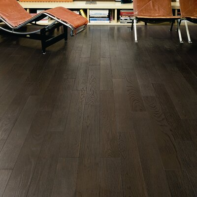 Bioessenze 5.75 x 46.65 Porcelain Tile in Rovere Pepe