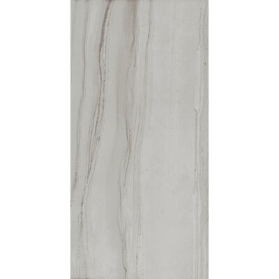 Travel 12 x 24 Porcelain Wood Look Tile in Polar White
