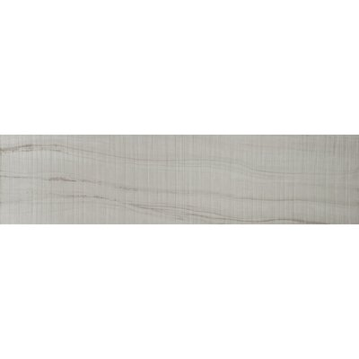 Travel 9 x 36 Porcelain Wood Look Tile in Polar White