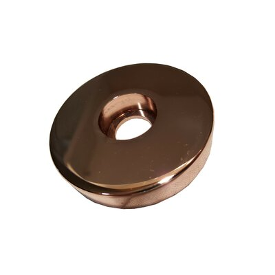 Jewel Shower Series Modern Cast Brass Tub Spout and Trim Finish: Rose Gold