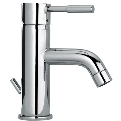 Fiddich Lever Single Handle Bathroom Faucet with Drain Assembly Finish: Polished Chrome