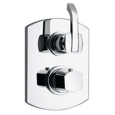 J11 Bath Series Thermostatic Valve Body and Trim Finish: Polished Chrome