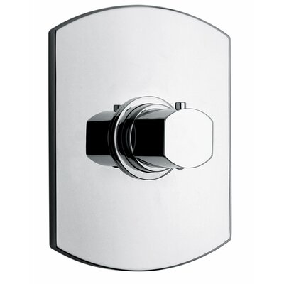 J11 Bath Series High Flow Thermostatic Valve Body and Trim Finish: Polished Chrome