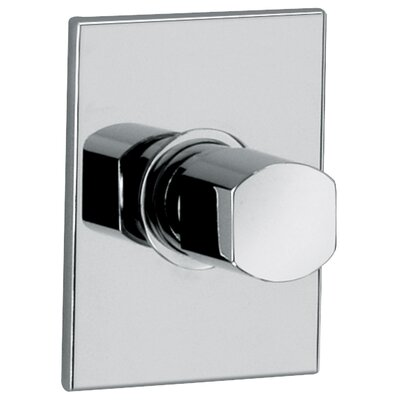 J12 Bath Series High Flow Stop Valve and Flow Control Valve Body and Trim Finish: Polished Chrome