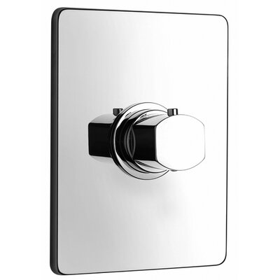 J15 Bath Series High Flow Thermostatic Valve Body and Trim Finish: Polished Chrome