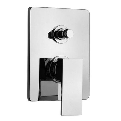 J12 Bath Series Pressure Balanced Valve Body with Diverter and Trim Finish: Polished Chrome