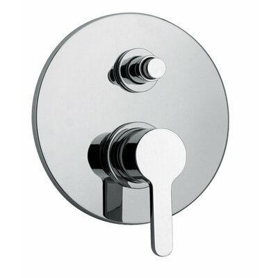J14 Bath Series Pressure Balanced Valve Body with Diverter and Trim Finish: Polished Chrome