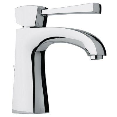 J11 Bath Series Single Lever Handle Bathroom Faucet with Arched Spout Finish: Polished Chrome