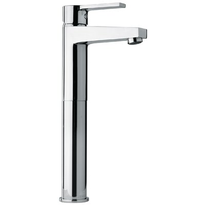 J14 Bath Series Single Lever Handle Tall Vessel Sink Faucet with Classic Spout Finish: Polished Chrome