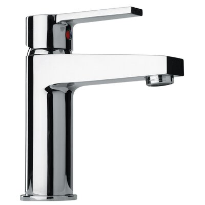 J14 Bath Series Single Lever Handle Bathroom Faucet with Classic Spout Finish: Polished Chrome