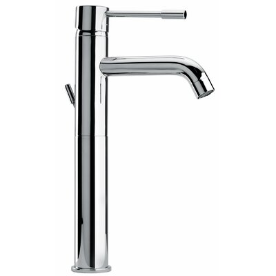 J16 Bath Series Single Lever Handle Tall Vessel Sink Faucet Finish: Polished Chrome