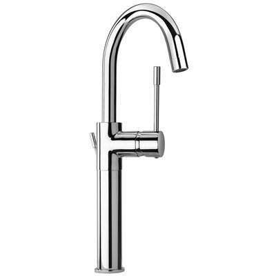 J16 Bath Series Single Lever Handle Tall Vessel Sink Faucet with Goose Neck Spout Finish: Polished Chrome