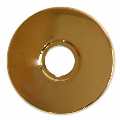Jewel Accessory Series Solid Brass Faucet Base Plate for Three Hole Application Finish: Polished Gold