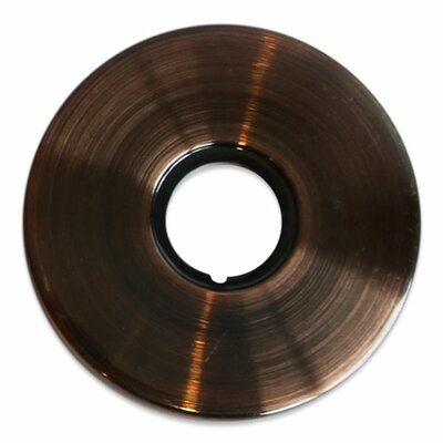 Jewel Shower Series Solid Brass Faucet Base Plate for Three Hole Application Finish: Antique Copper