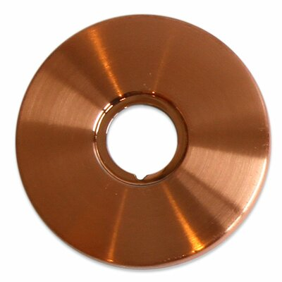 Jewel Shower Series Solid Brass Faucet Base Plate for Three Hole Application Finish: Brushed Copper