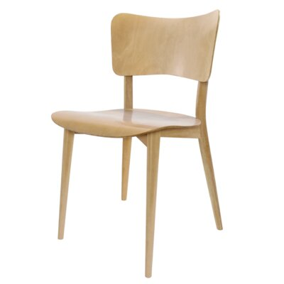Bill Dining Chair Finish: Natural Beech