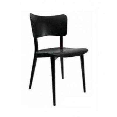 Bill Dining Chair Finish: Black Lacquer