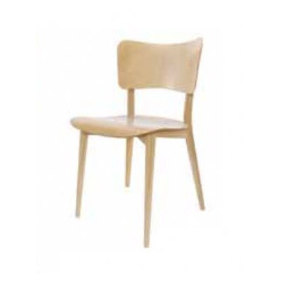 Max Bill Side Chair Finish: Natural Beech