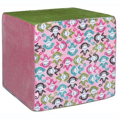 Monkeys Cube Ottoman