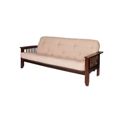 Big Tree Furniture ComfortFlex Series Pinehurst Full Futon Frame and Mattress - Fabric Color: Khaki at Sears.com