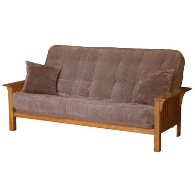 Big Tree Furniture ReFlex Support Series Utah Futon and Mattress - Fabric Color: Legend Espresso at Sears.com