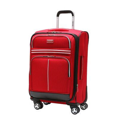 """Izod Varsity 28"""" Spinner Upright Suitcase - Color: Red at Sears.com"""