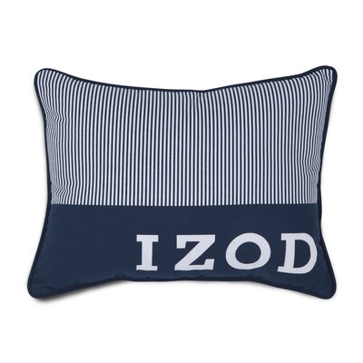 Oxford Plaid Pinstripe Throw Pillow