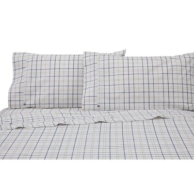 Windowpane Plaid Pillowcase Pair