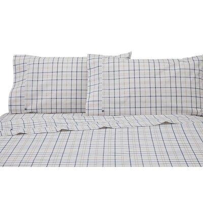 Windowpane Plaid Pillowcase Pair