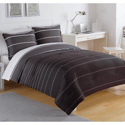 Matrix Stripe Comforter Size: Twin