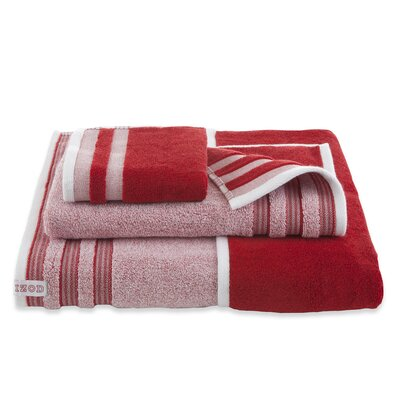 Oxford Hand Towel Color: Pompei Red
