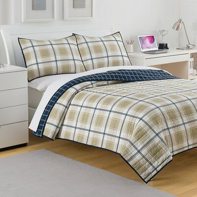 Fairfax Plaid Quilt Size: Twin