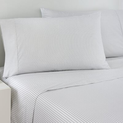 200 Thread Count Ticking Stripe Sheet Set Size: Twin
