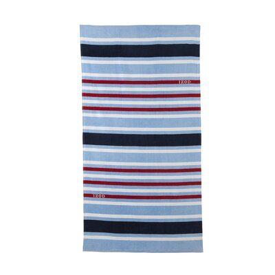 Deconstructed Stripes Beach Towel
