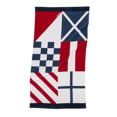 Nautical Flags Beach Towel