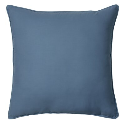 Chambray Stripe Euro Throw Pillow