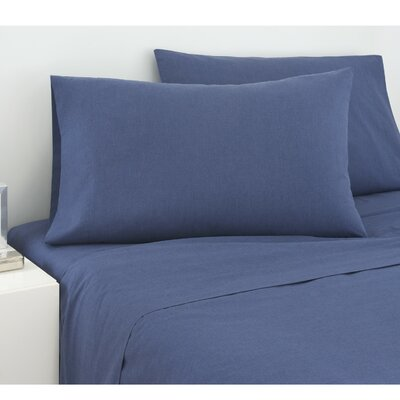 225 Thread Count Cross Dyed Sheet Set Size: Queen