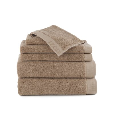 Classic 6 Piece Towel Set Color: Egret