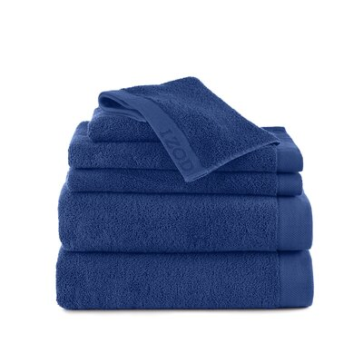 Classic 6 Piece Towel Set Color: Morning Glory