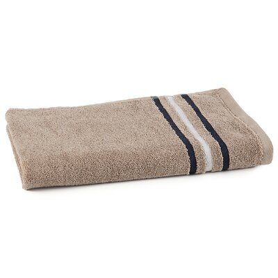 Varsity Stripe Hand Towel Color: Cornstalk